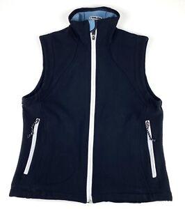 Pearl izumi - Women's Cycling Nylon Vest, Black. Size Medium Full Zip