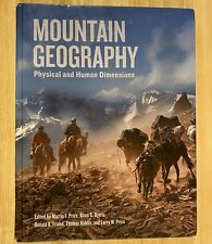 MOUNTAIN GEOGRAPHY: Physical and Human Dimensions  (Hardcover) Very Good