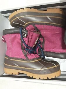""""""" JOULES"""" Girls Fleece Lined Snow Boots ( BNWB) Rrp £39.95"""