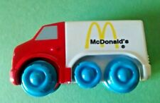 RARE 1996 Fisher Price McDonalds Happy Meal Toy Delivery Truck