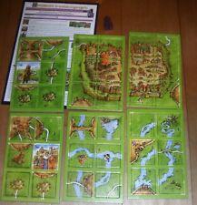 Carcassonne 6. Erweiterung - Graf, König und Konsorten - altes Layout ungespielt