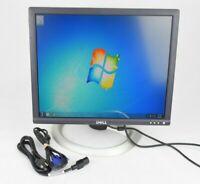 """Dell 1801FP 18""""  LCD Monitor DVI VGA w/ Cords Grade B"""
