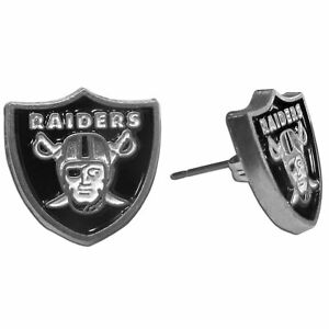 Las Vegas Raiders Stud Post Earrings