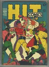 Hit Comics #6 Photocopy Comic Book Hercules, The Red Bee, Classic Lou Fine Art