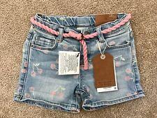 BRAND NEW Zara Baby Shorts Denim 18-24 Months Cherry Print