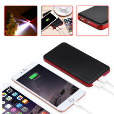 Ultra 20000mAh 2 USB Portable External Battery Charger Power Bank for Cell Phone