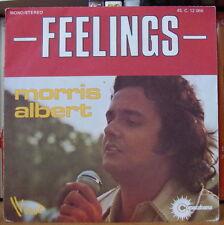 MORRIS ALBERT FEELINGS FRENCH SP DISQUES VOGUE 1975