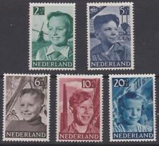 Netherlands 1951 - B229-33 Children - MH