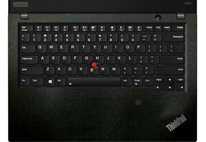 2-pack Matte Black Palmrest Sticker for Lenovo T490S T490 T550 T570 T590 T15