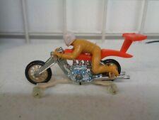 VINTAGE 1970'S MATTEL HOT WHEELS RRRUMBLERS HIGH TAILER MOTORCYCLE COMPLETE NICE