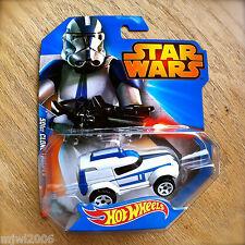 Disney STAR WARS Hot Wheels 501st CLONE TROOPER #7 diecast Mattel INTL Republic