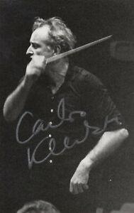 CARLOS KLEIBER --- original signiert - A5#16