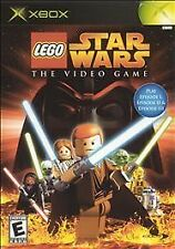 LEGO Star Wars: The Video Game (Microsoft Xbox, 2005) Platinum Edition