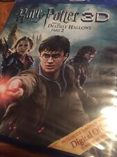 Harry Potter and the Deathly Hallows Part 2 - 3D & Blu-Ray disc Promotional NEW