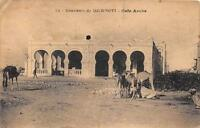 CPA SOUVENIR DE DJIBOUTI CAFE ARABE