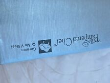 The Pampered Chef German CR Mo V Steel butcher knife with sheath