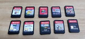 Nintendo Switch Game Cartridges (Preowned) - Cartridge only, No Case