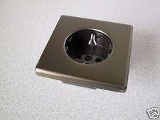 KOPP Steckdose ohne Kinderschutz VISION bronze-metall UP Unterputz Schutzkontakt