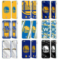 OFFICIAL NBA GOLDEN STATE WARRIORS SILVER SLIDER CASE FOR APPLE iPHONE PHONES