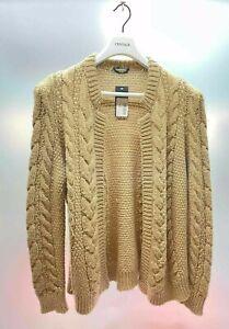 HUGO BOSS Strickjacke Gr. XL Wolle-Mohair Cardigan Strick Knit NEU Mit Etikett