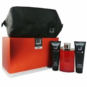Dunhill Desire for a Man - Men Set 100 ml EDT & 90 ml SG & 90 ml AS Balm & Bag