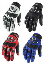 Motorcycle Mountain Bike Cycling Racing Motocross Full Finger Gloves Size M L XL