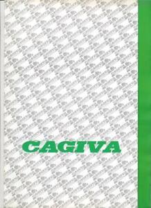 Cagiva Ducati Elefant Mito Freccia etc.  Originalprospekt brochure um 1991/´92