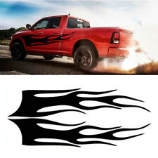 Demon flame Vinyl Graphic Decals Sticker Car Side flame totem Waistline stickers
