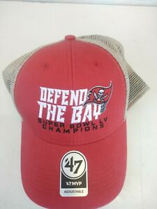 New Tampa Bay Buccaneers 47 Brand DEFEND THE BAY Super Bowl Champions Cap Hat