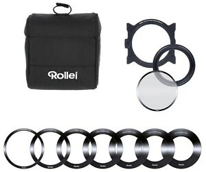 Rollei Pro Square Filter Holder Kit Mark II for 100 mm Square Filters Set