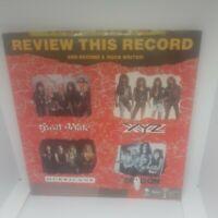 "Various – Raw Cuts Vinyl 7"" Promo EP Still Sealed - Hard Rock - Great White etc"