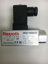 Rexroth Pneumatic Stainless Steel Switch With Bosch Rexroth Din Connector