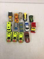 Lot of 14 1974-2000 Matchbox & Hot Wheels Toy Cars
