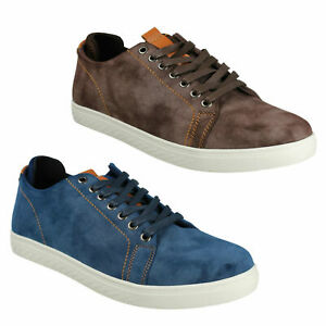 A2R176 MENS REFLEX LACE UP SMART CASUAL SUMMER TRAINERS SHOES SIZE