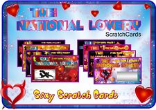 Scratch Card Sexy Amanti Regalo scratchcards carta regalo personalizzato