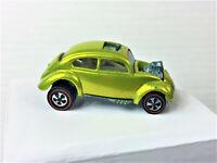 Vintage Hot Wheels Redline 1968 Custom Volkswagen Lime/Antifreeze