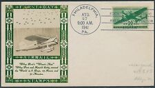 """#C29 """"AIRMAIL STAMPS"""" ON LOUIS WEIGAND PHOTO CACHET FDC BS2064"""