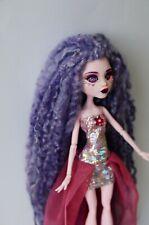 Monster high doll ooak repaint custom - glass inserted eyes Draculaura