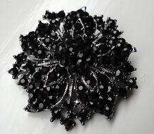 Vintage Victorian Style Gothic Dark Brooch Steampunk Vampire Costume Diamante