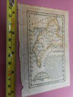 100% ORIGINAL CUMBERLAND MAP BY JOHN  GIBSON  C1759 VGC HAND COLOURED