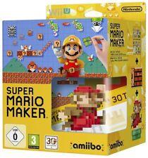 Super Mario Maker + Artbook + Amiibo - Limited Edition WII U - NEW & SEALED