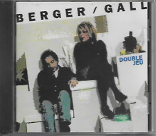 MICHEL BERGER - FRANCE GALL - Double Jeu - CD - Wea - 1992 - Chanson - France