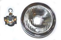 Vespa-Scheinwerfer-Kopf-Lampe mit Halter Rally 180 200 Sprint Veloce 130mm