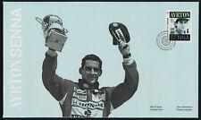 Canada 2995 on FDC - Formula 1 Racing - Ayrton Senna, Motor Sport