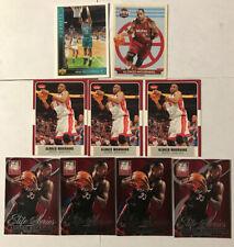 ALONZO MOURNING lot Of 9 Cards- Elite Fleer Upper Deck Miami Heat