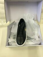 SikSilk Storm Black  laceup sneakers casual trainer  Synthetic Leather shoes New