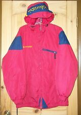 Columbia Red Insulated Hooded Coat, Womens S-M