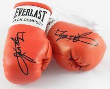 Mini Guantes De Boxeo Jack Dempsey Autografiado (artículo de coleccionistas)