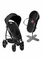 Phil&Teds 2014 Smart Buggy Stroller Bundle in Black Version 2, Includes Bassinet