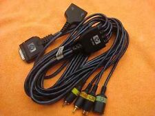 Laptop HP XC1000 R3000 ZD7000 All In One Media DC Power  AV S-Video Output Cable